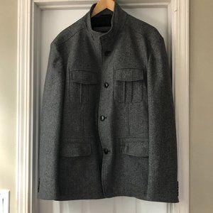 BOSS Hugo Boss Wool Blend Coat US 42 Reg